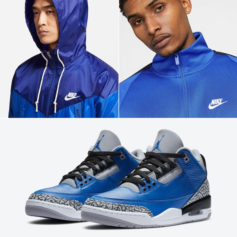 jordan-3-royal-blue-cement-nike-clothing-match
