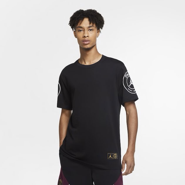 jordan-4-psg-logo-shirt-black-1