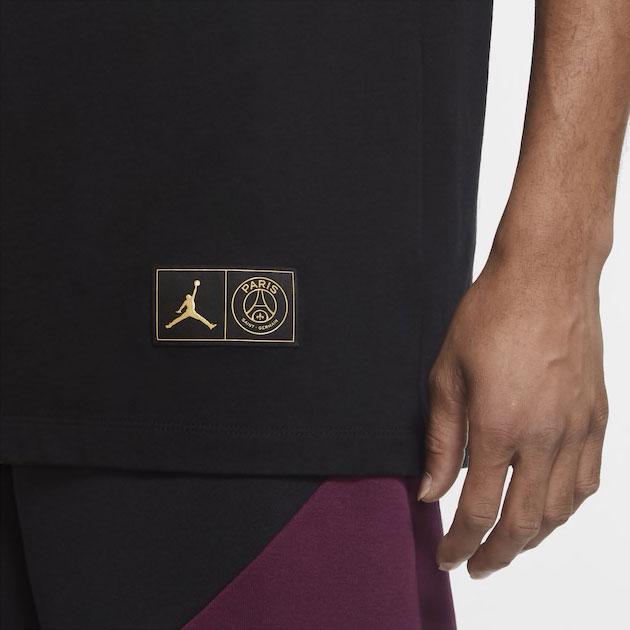 jordan-4-psg-logo-shirt-black-3