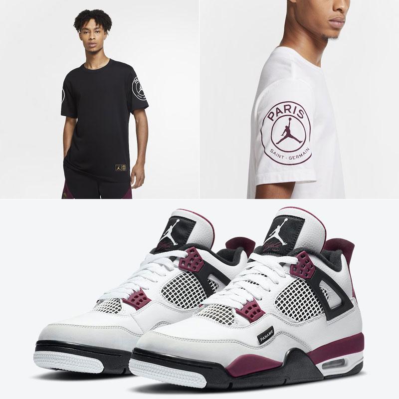 jordan-4-psg-logo-shirt