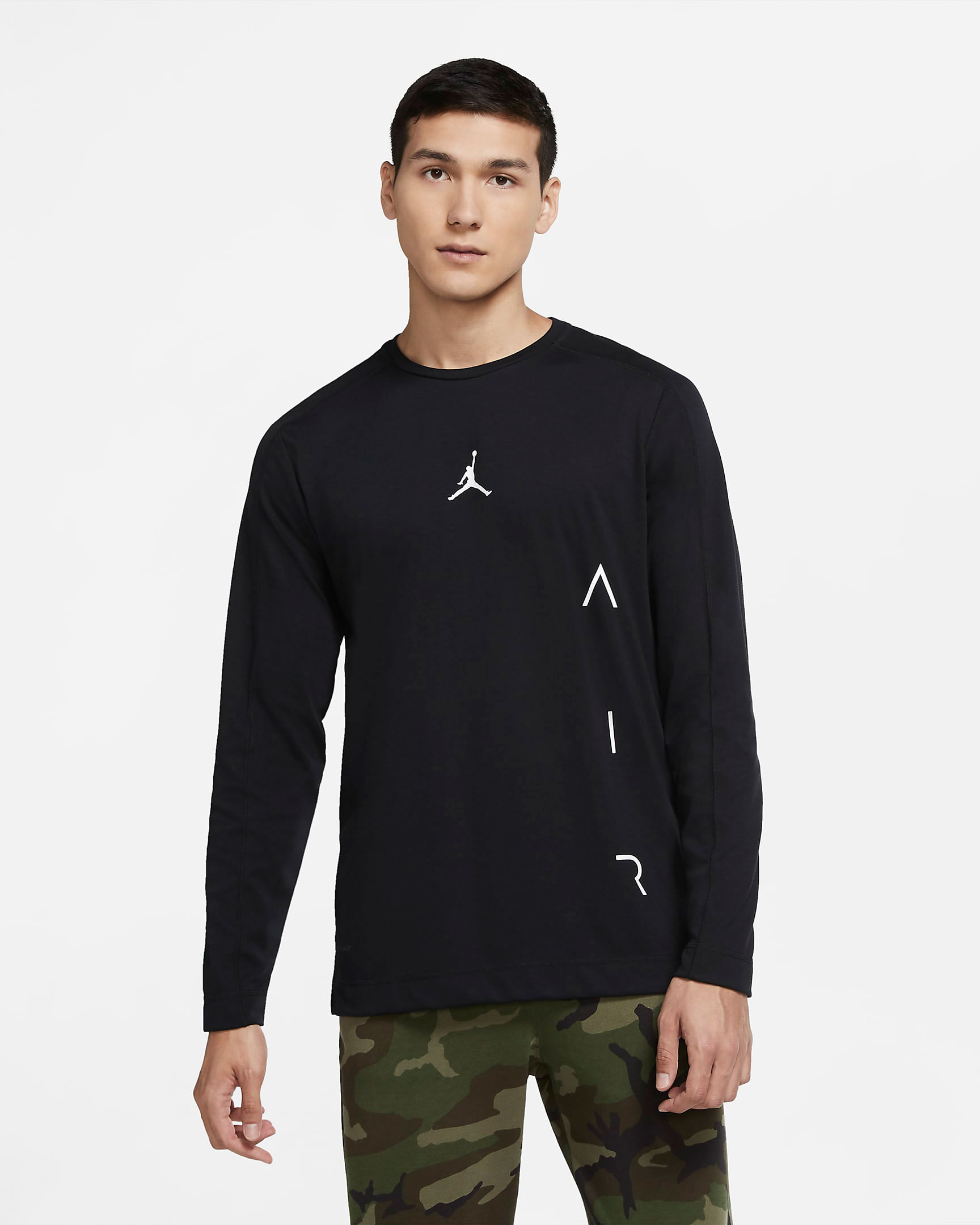 jordan-air-long-sleeve-shirt-black-white