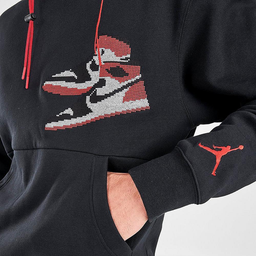 jordan-aj1-holiday-2020-hoodie-black-3