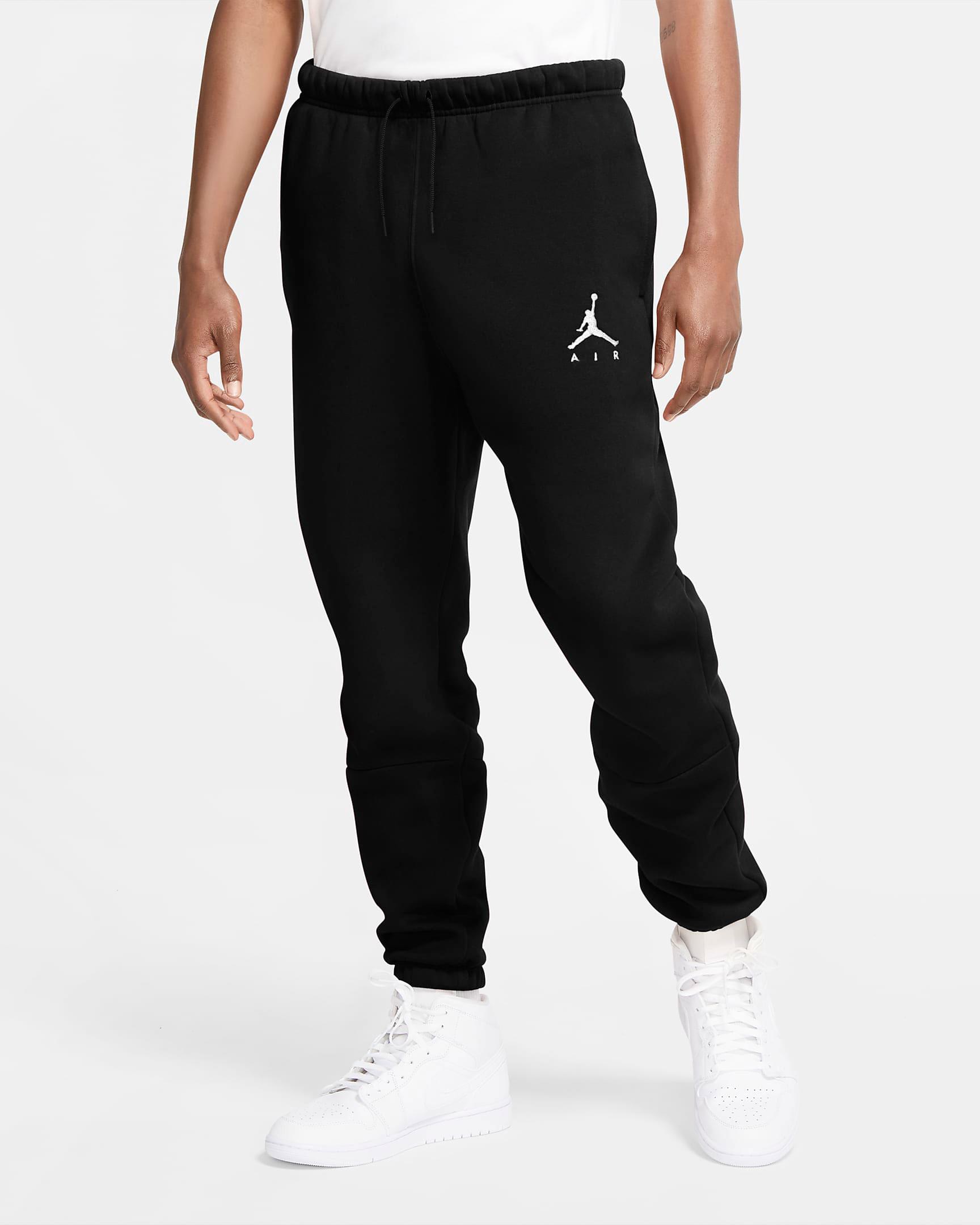 jordan-jumpman-air-fleece-pants-black-white