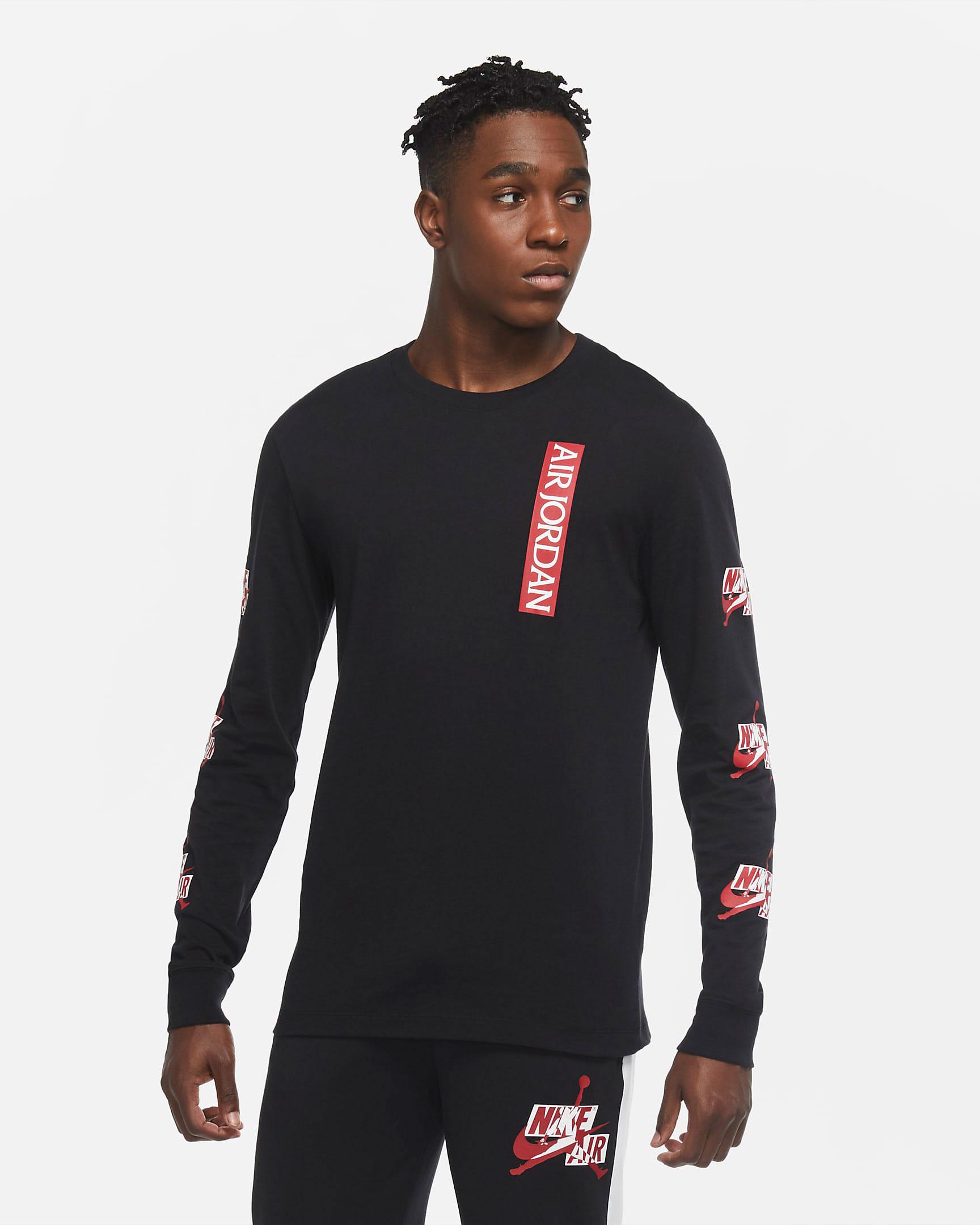 jordan-jumpman-classics-long-sleeve-shirt-black-gym-red