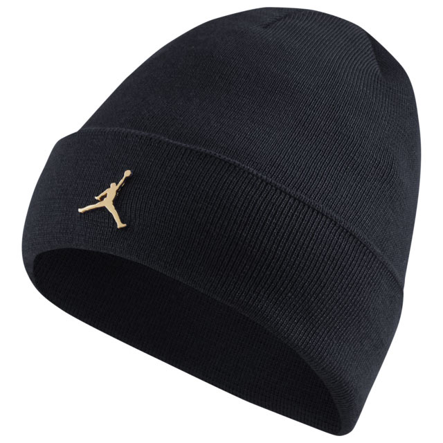 jordan-jumpman-cuffed-beanie-knit-hat-black-gold