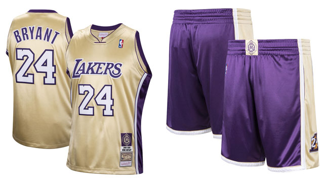 Kobe Bryant Lakers Hall of Fame Jerseys and Shorts | SneakerFits.com