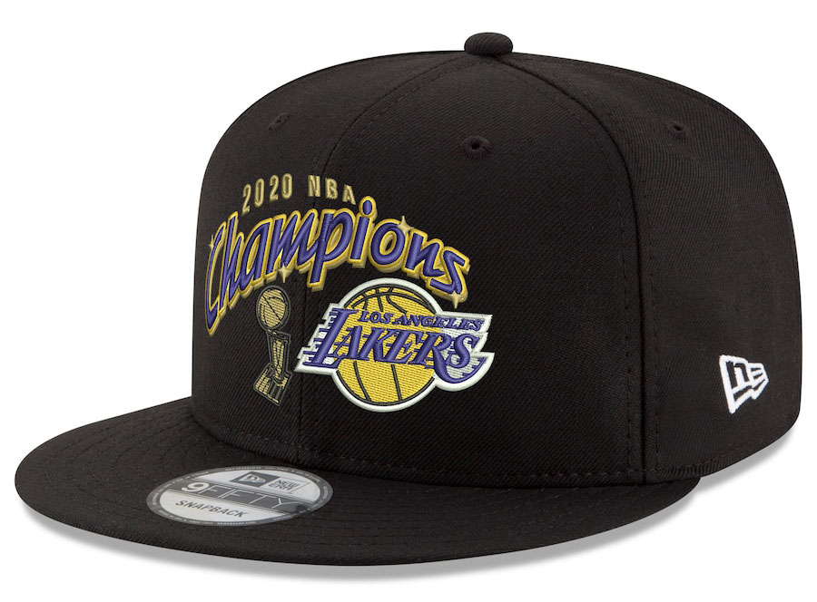 lakers-2020-champions-new-era-script-snapback-hat