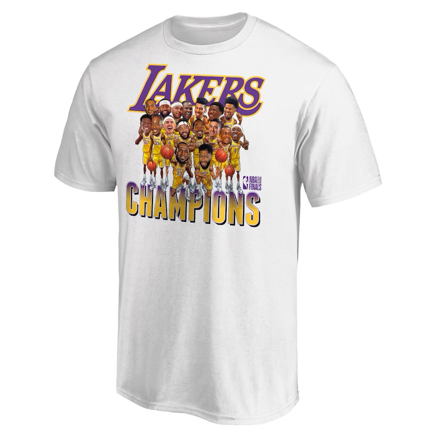 lakers-2020-nba-finals-champions-caricature-cartoon-shirt