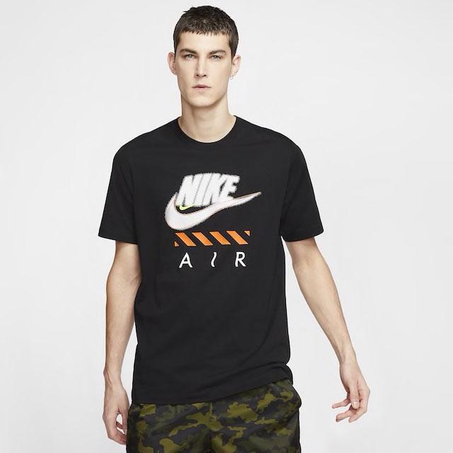 nike-air-force-1-orange-skeleton-tee-shirt-match