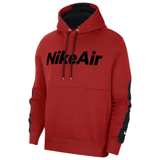 nike-air-hoodie-red-black-1