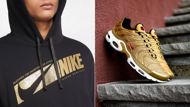 nike-air-max-plus-gold-bullet-hoodie-match