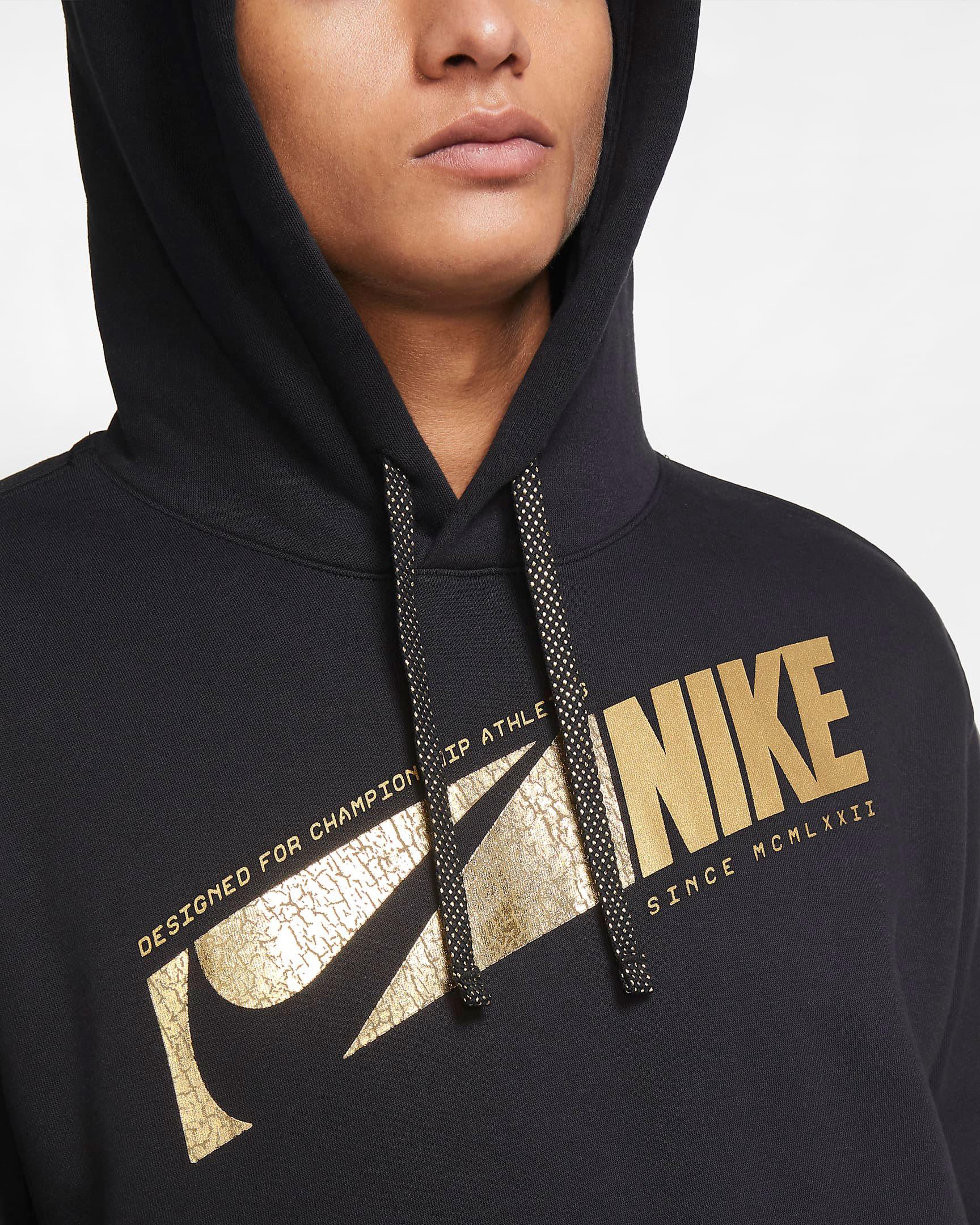 nike-club-fleece-hoodie-black-metallic-gold-1