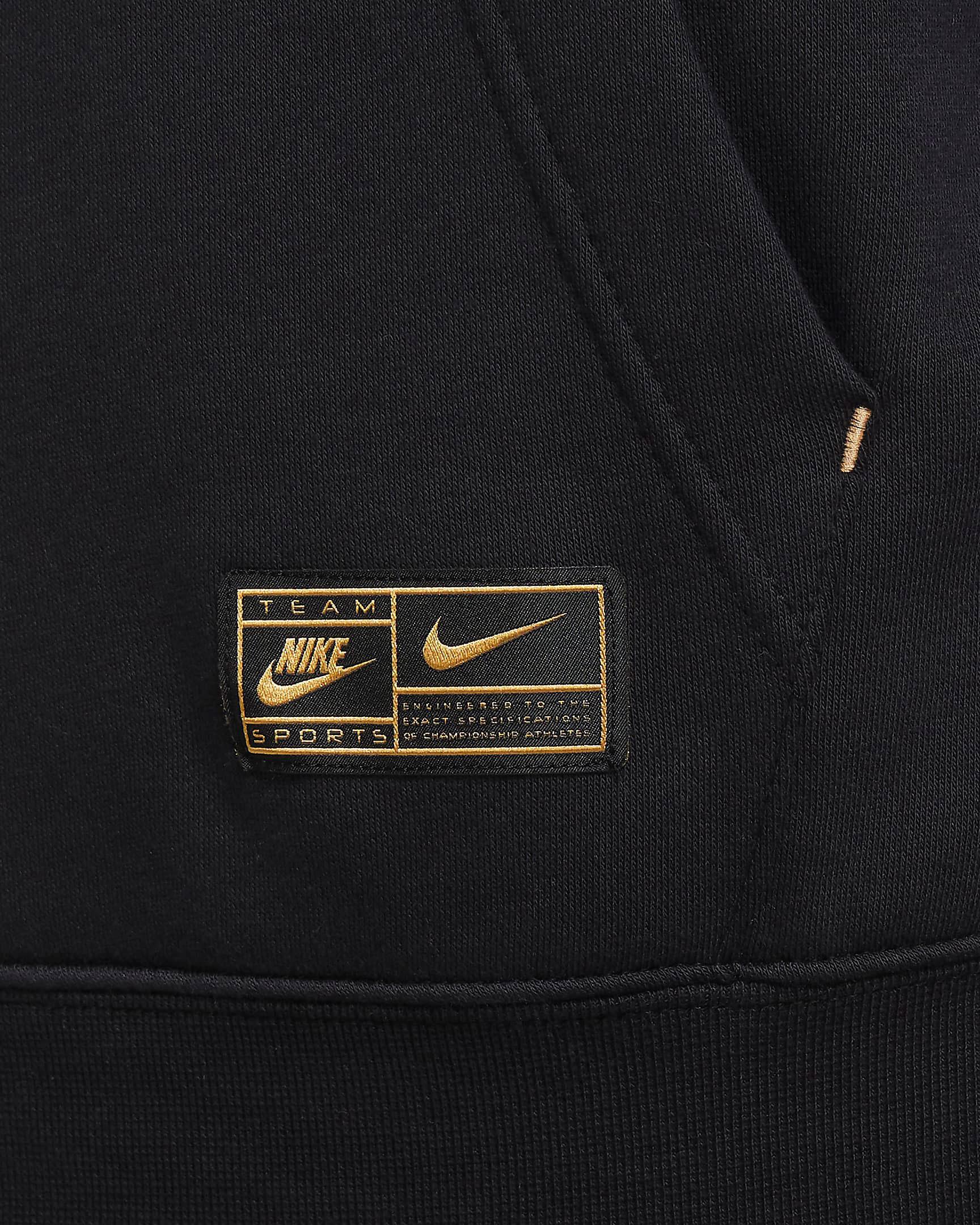 nike-club-fleece-hoodie-black-metallic-gold-2