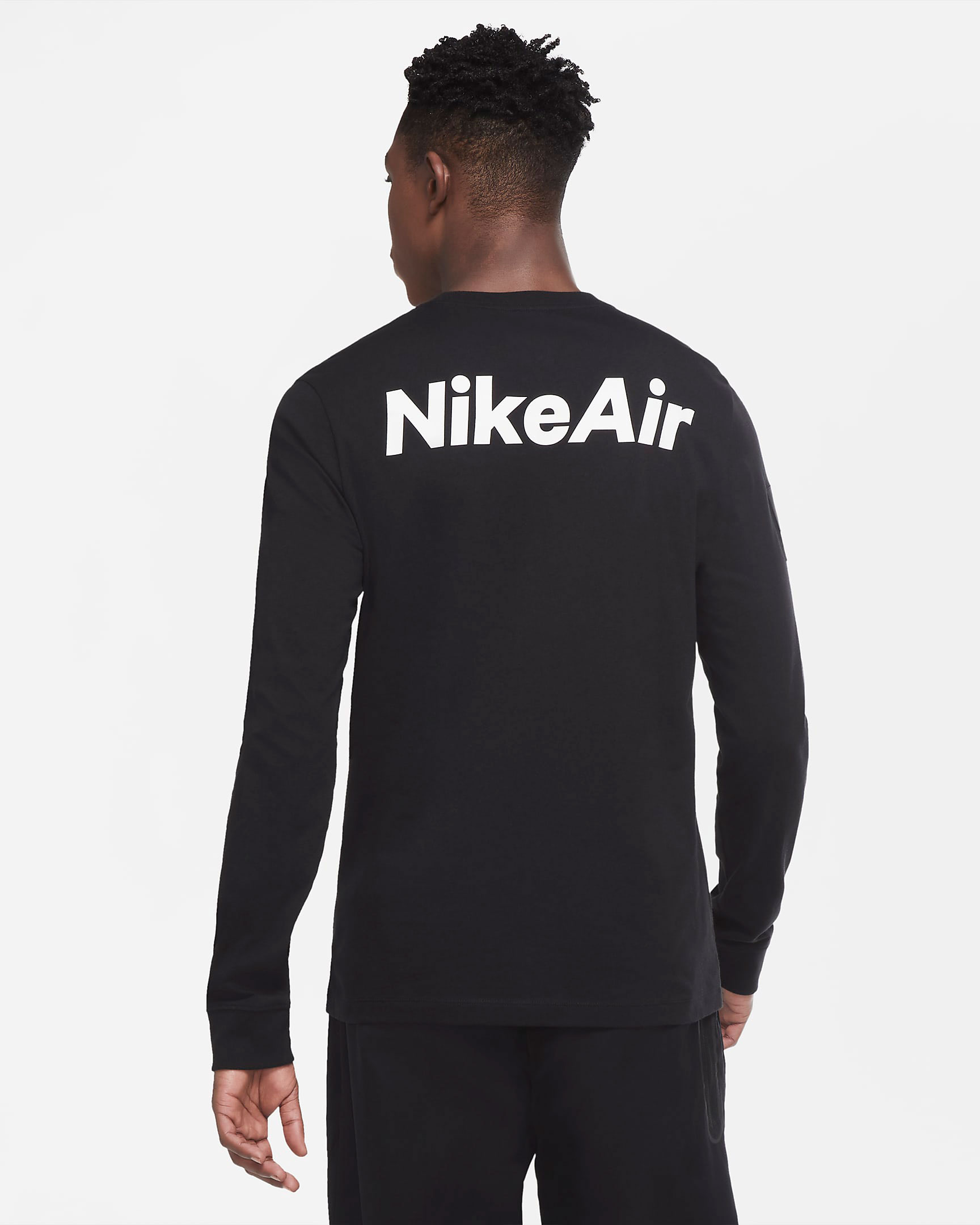 nike-foamposite-one-anthracite-blackout-long-sleeve-shirt-match-2