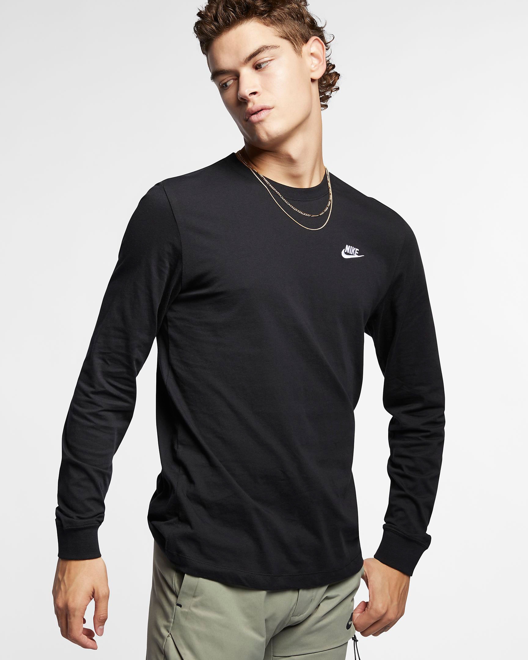 nike-foamposite-one-anthracite-blackout-long-sleeve-shirt-match