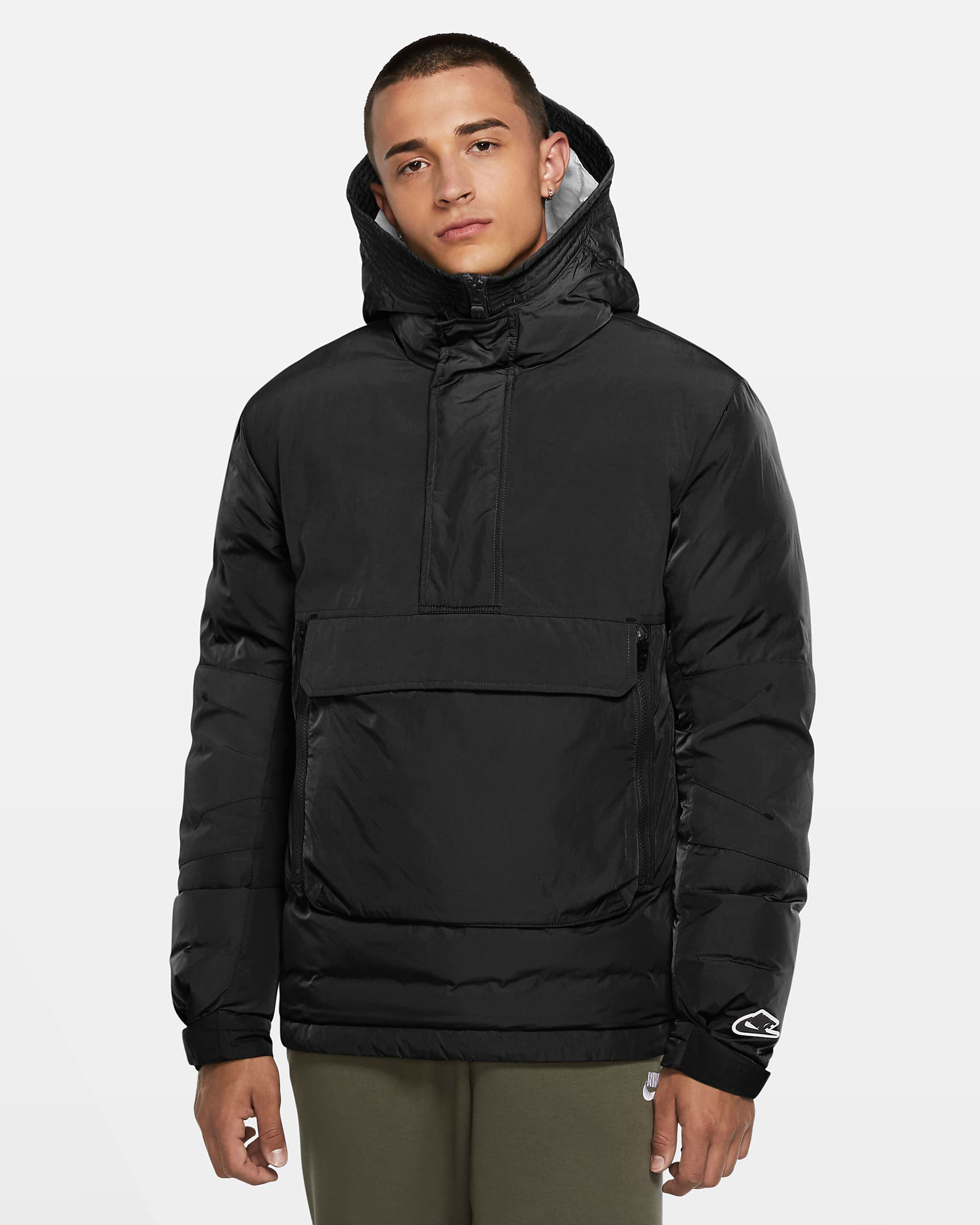 nike-foamposite-one-black-anthracite-winter-jacket-match
