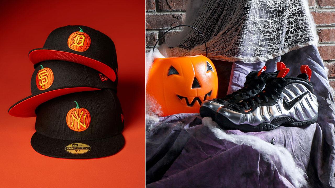 nike-foamposite-pro-halloween-new-era-hat-match