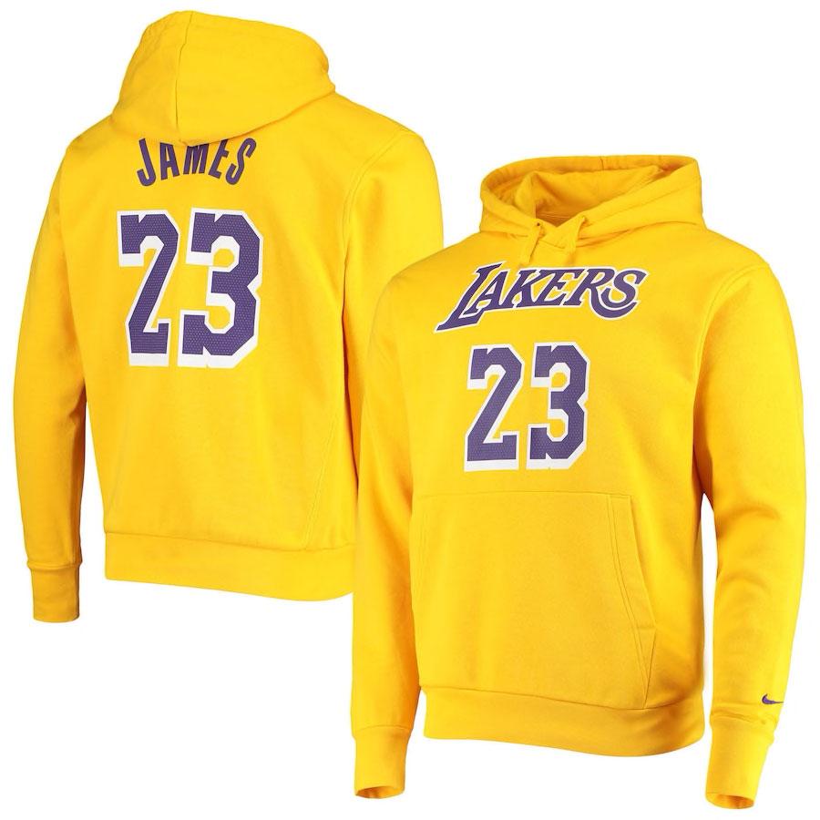 nike-lebron-18-lakers-gold-yellow-hoodiet
