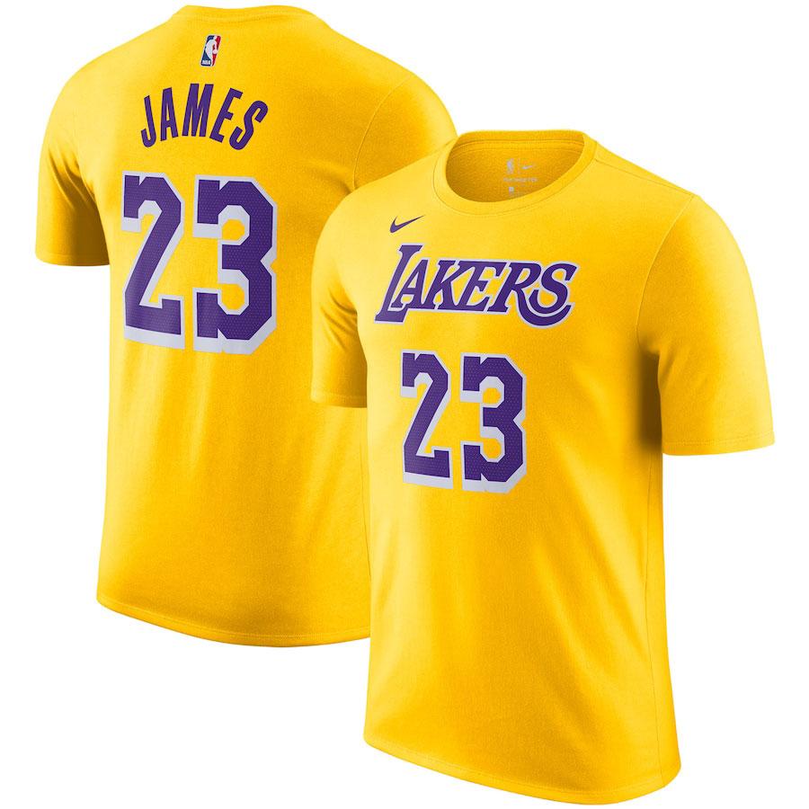 nike-lebron-18-lakers-gold-yellow-shirt