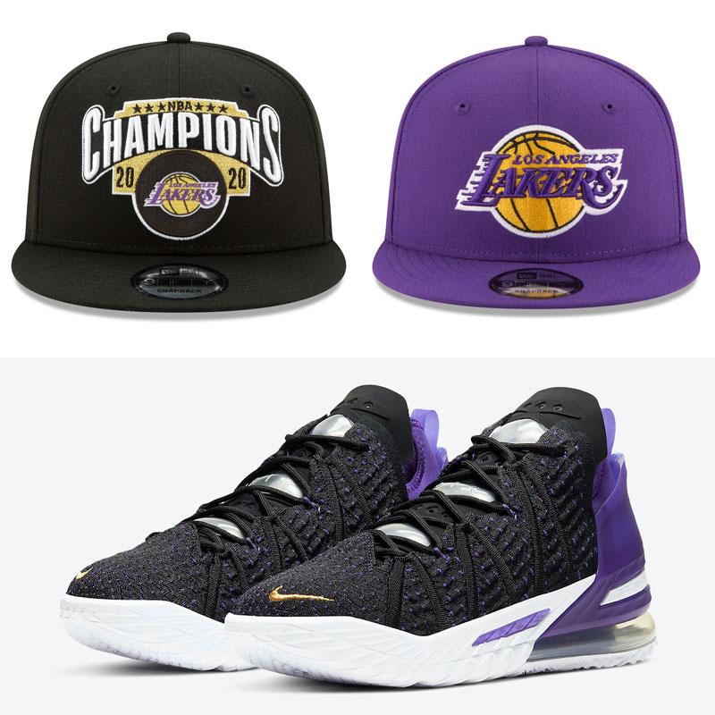 nike-lebron-18-lakers-hats