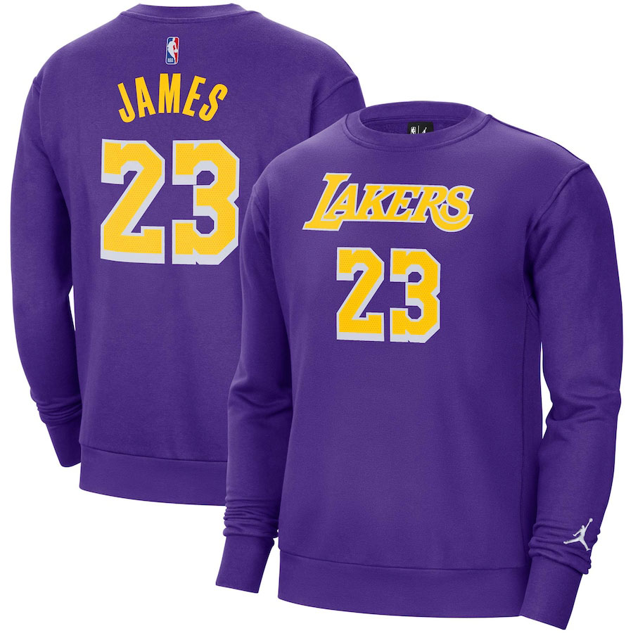 nike-lebron-18-lakers-purple-sweatshirt