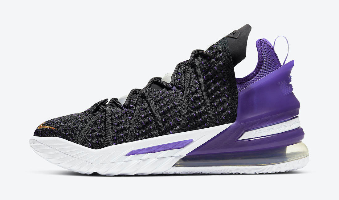 nike-lebron-18-lakers-sneaker-clothing-match