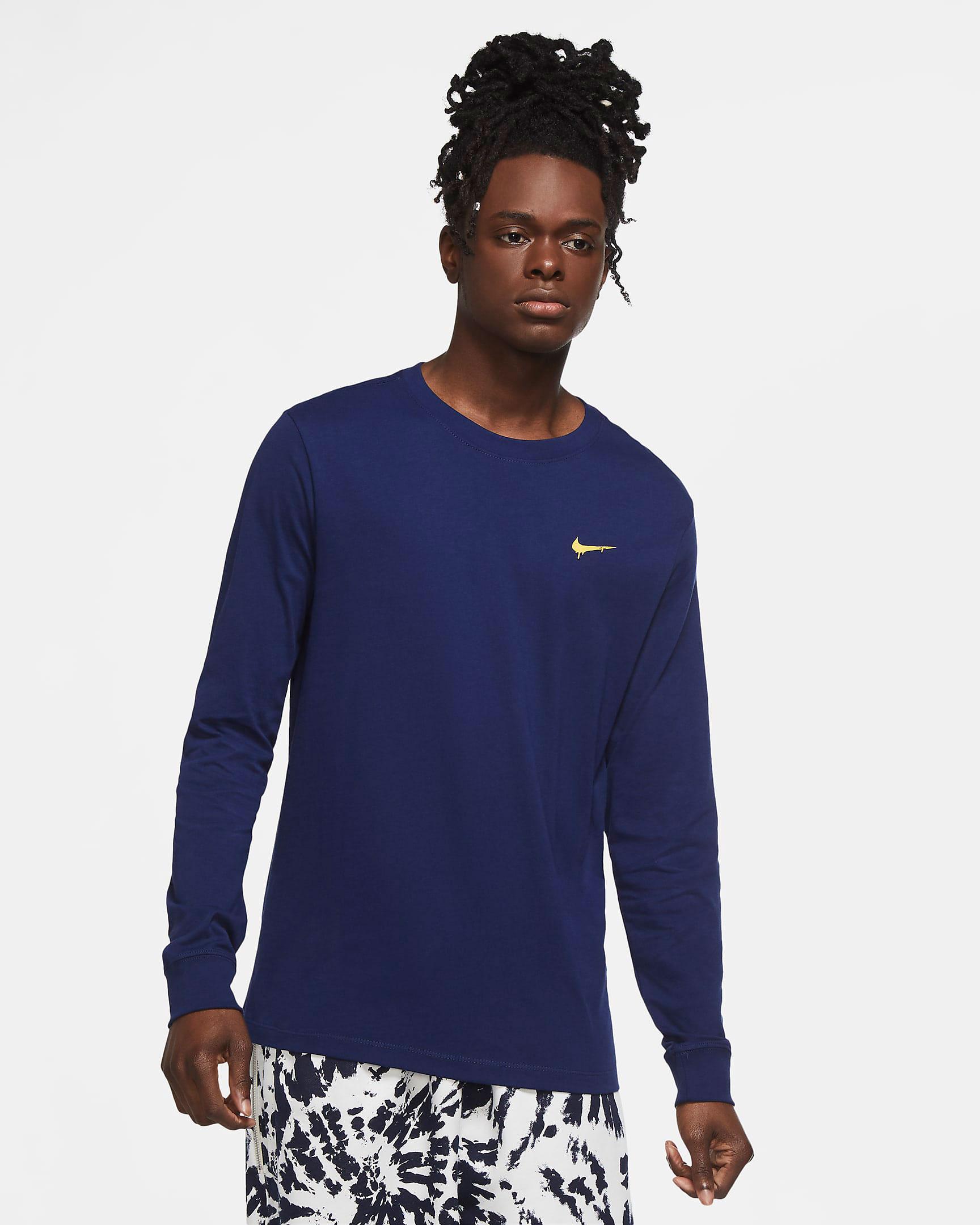 nike-peace-love-basketball-long-sleeve-shirt-navy-1