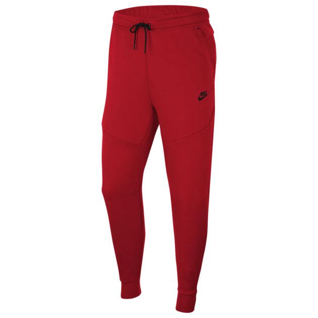 nike-tech-fleece-pants-red-black