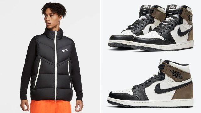 air-jordan-1-dark-mocha-nike-vest-jacket-match