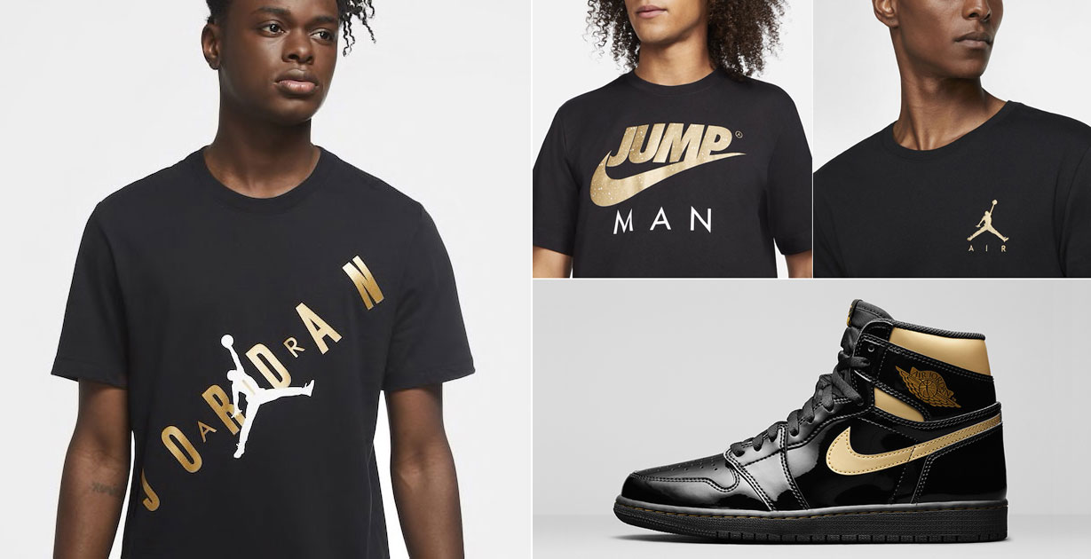 air-jordan-1-high-patent-black-gold-clothing