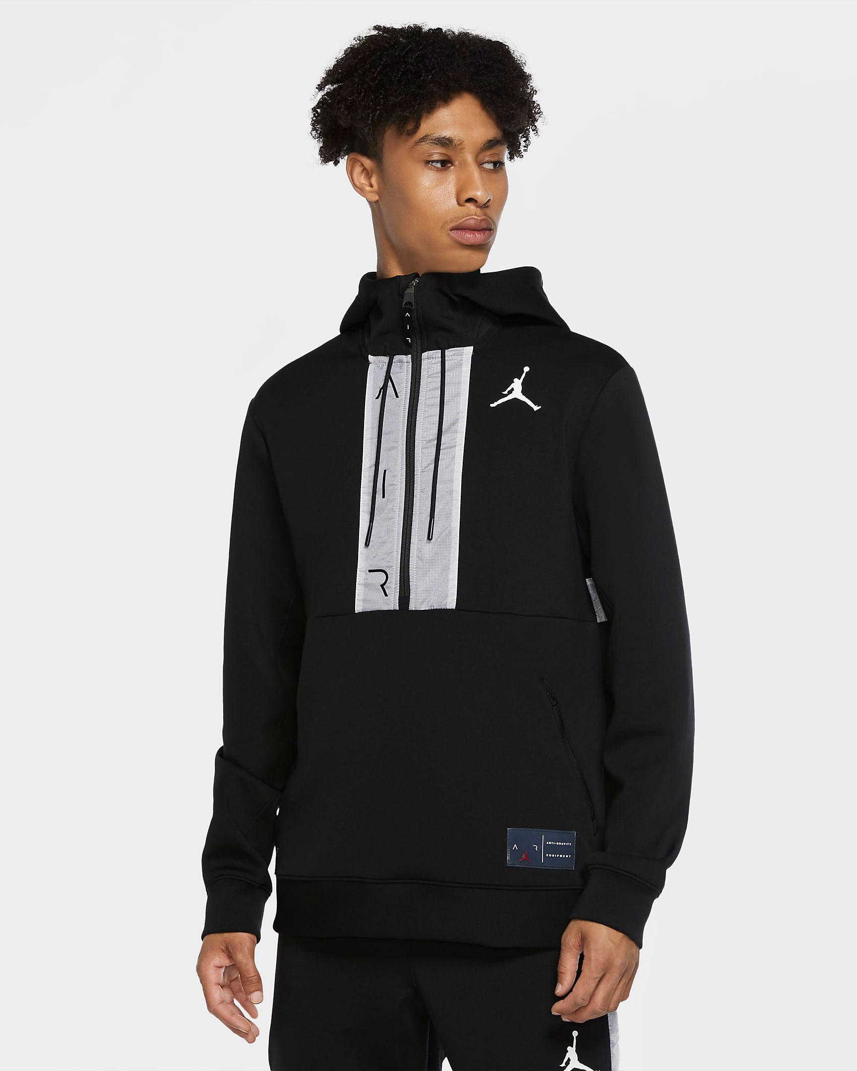 air-jordan-11-jubilee-black-white-jordan-hoodie