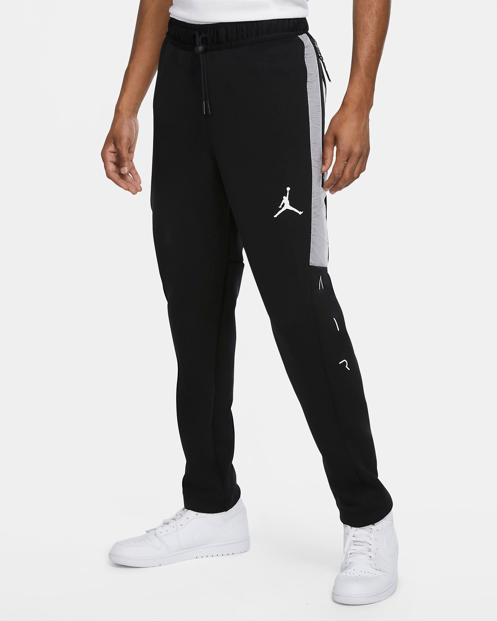 air-jordan-11-jubilee-black-white-jordan-pants-1