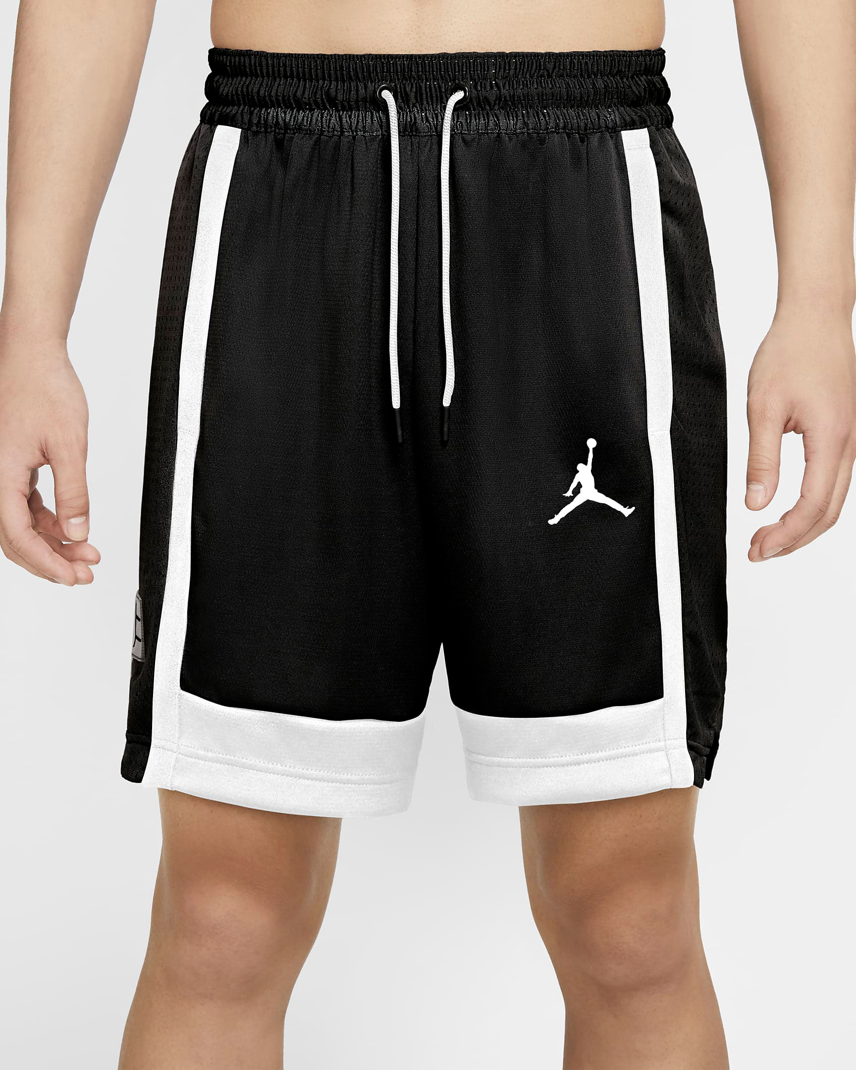 air-jordan-11-jubilee-black-white-jordan-shorts-1