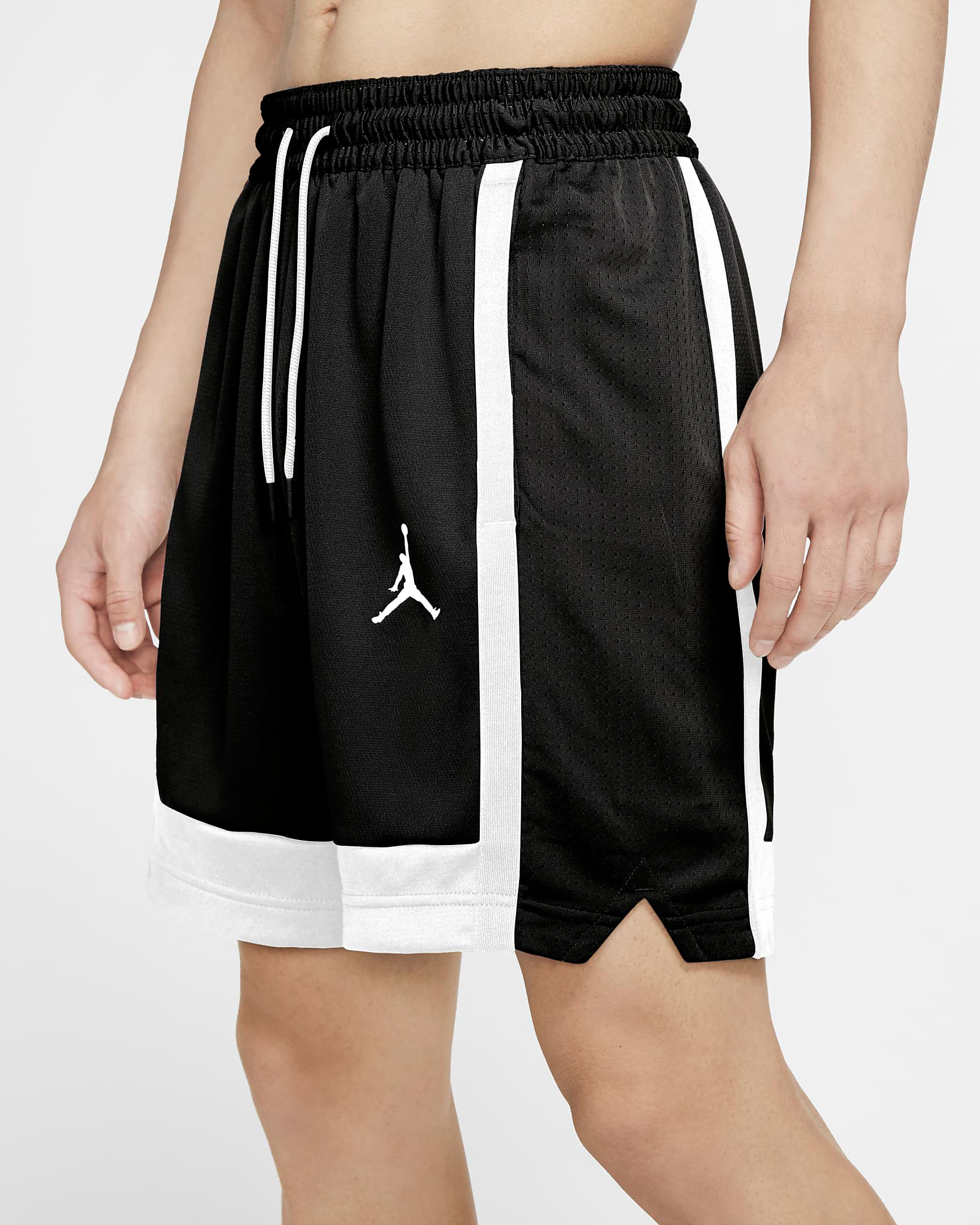 air-jordan-11-jubilee-black-white-jordan-shorts-2