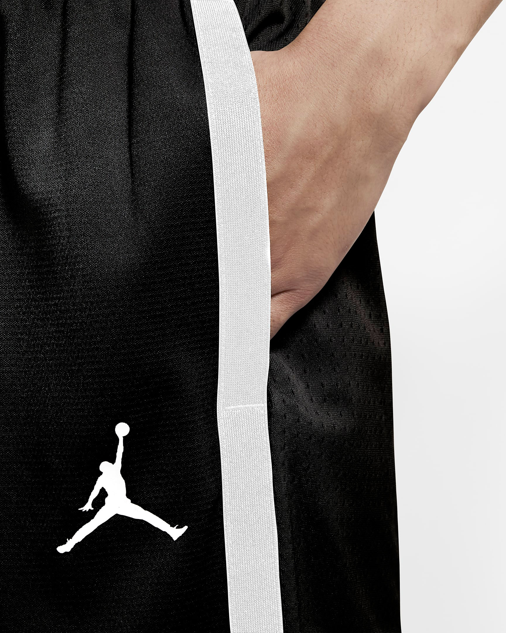 air-jordan-11-jubilee-black-white-jordan-shorts-3