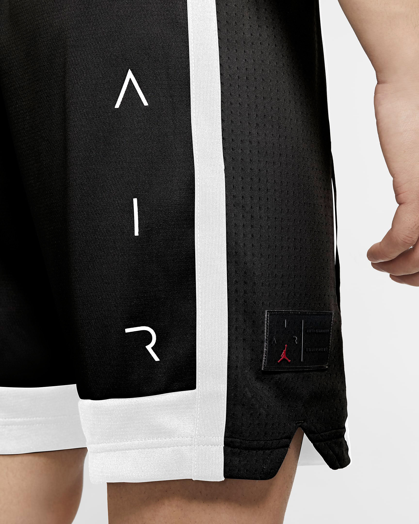 air-jordan-11-jubilee-black-white-jordan-shorts-4