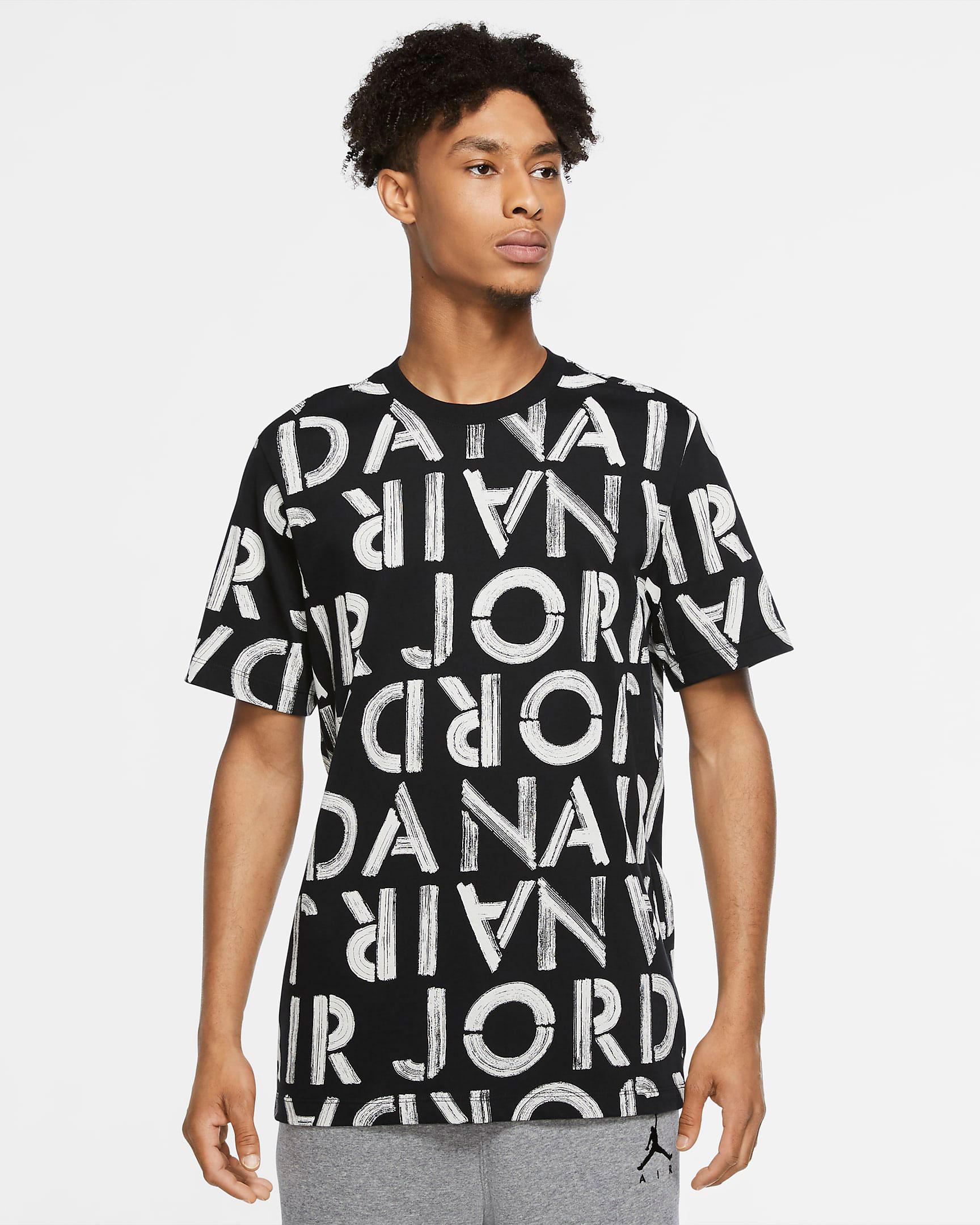 air-jordan-11-jubilee-black-white-wordmark-shirt
