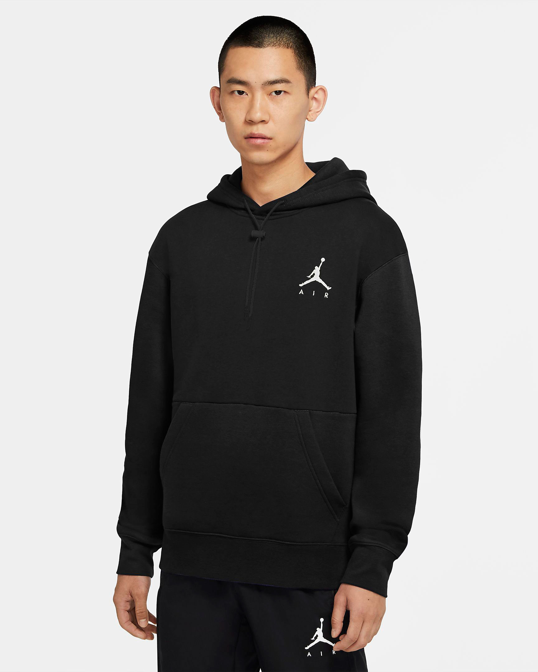 air-jordan-11-jubilee-jumpman-hoodie-match-black-white