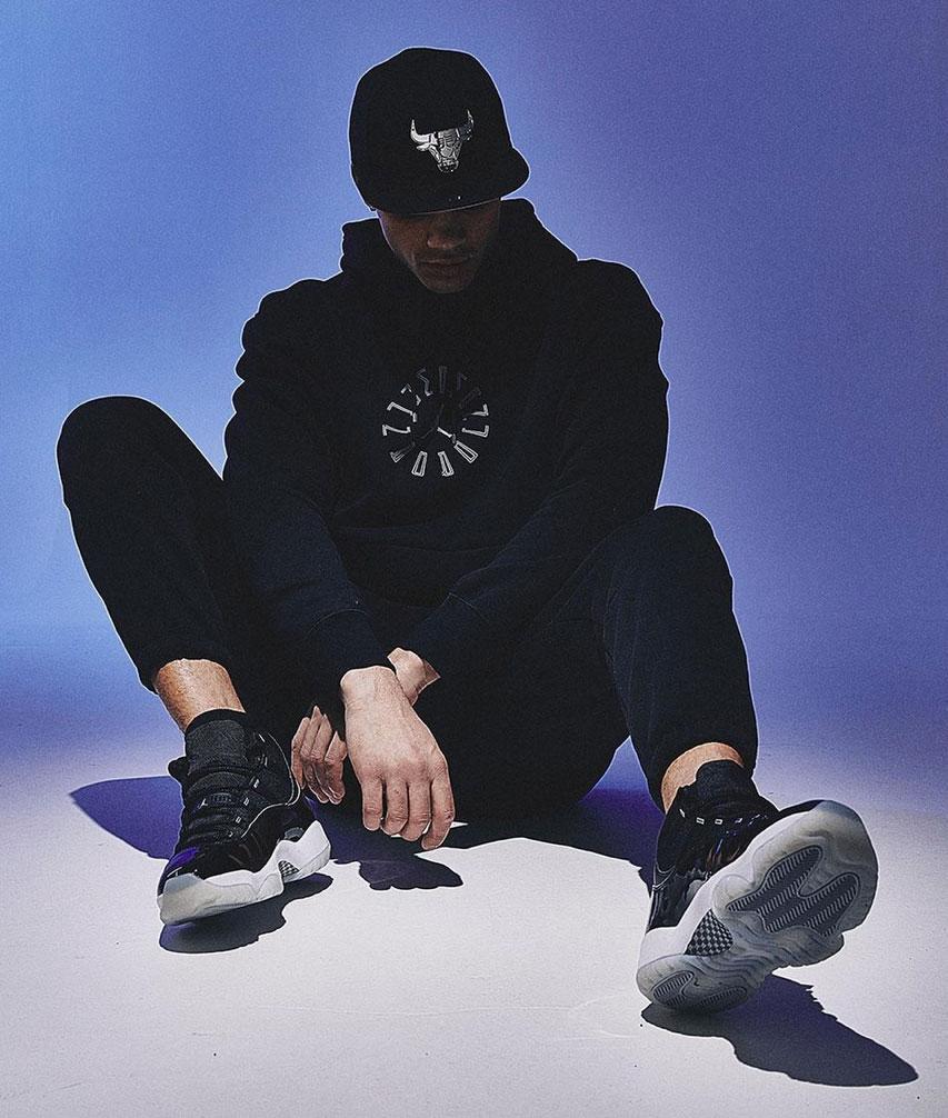 air-jordan-11-jubilee-on-feet-sneaker-outfit-match
