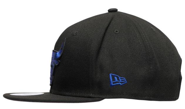 air-jordan-12-black-dark-concord-bulls-hat-new-era-5