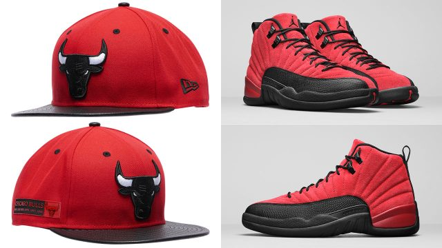 air-jordan-12-reverse-flu-game-bulls-hat