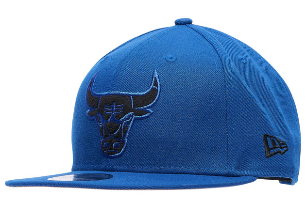 air-jordan-13-hyper-royal-black-bulls-hat-1