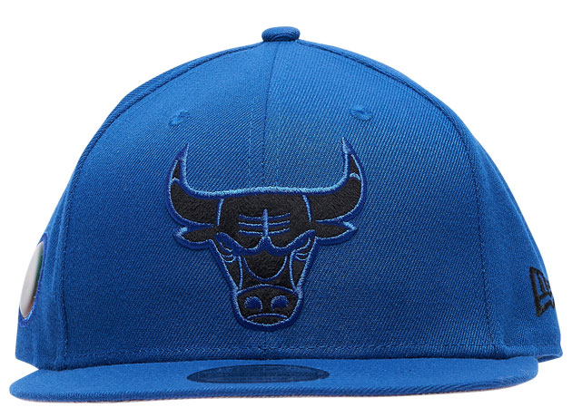 air-jordan-13-hyper-royal-black-bulls-hat-2