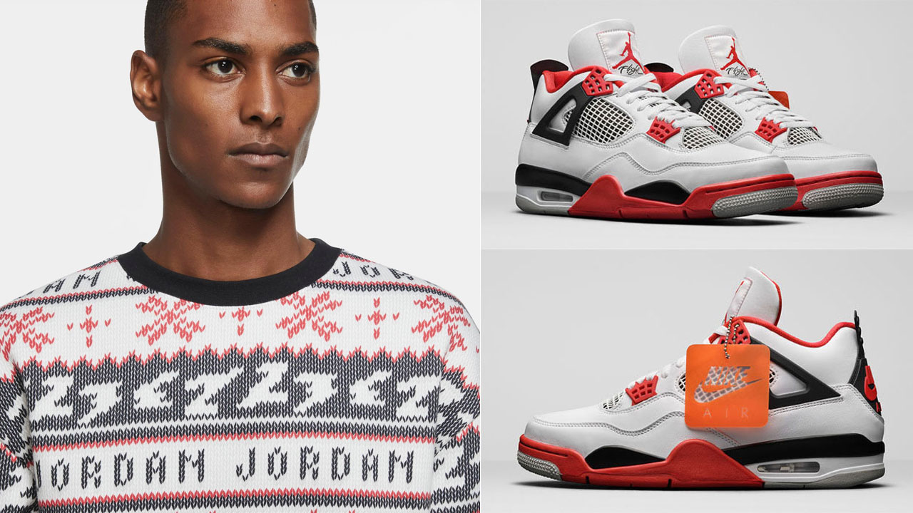 air-jordan-4-fire-red-2020-holiday-christmas-sweater