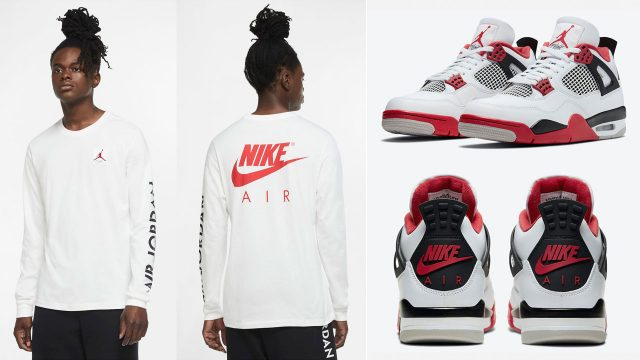 air-jordan-4-fire-red-2020-long-sleeve-tee-shirt