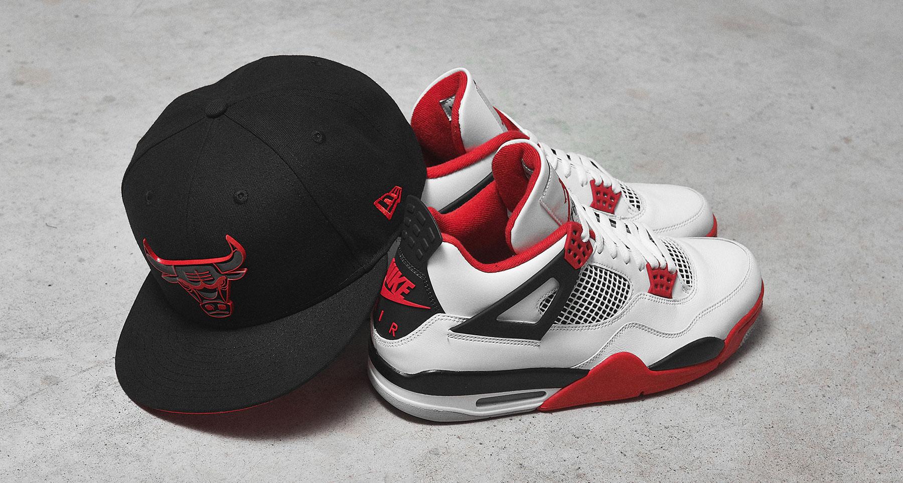 air-jordan-4-fire-red-hat-match