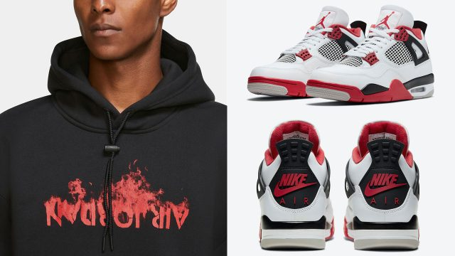 air-jordan-4-fire-red-hoodie-2020