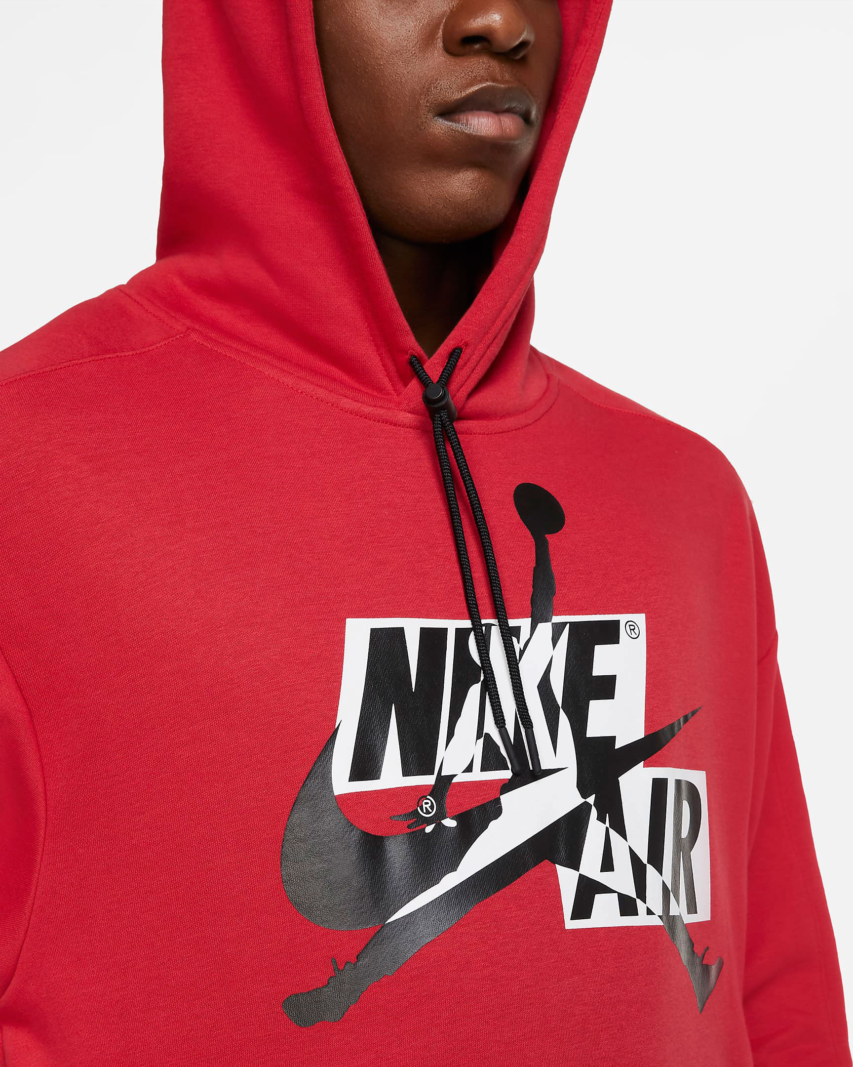 air-jordan-4-fire-red-jumpman-classic-hoodie-red-1