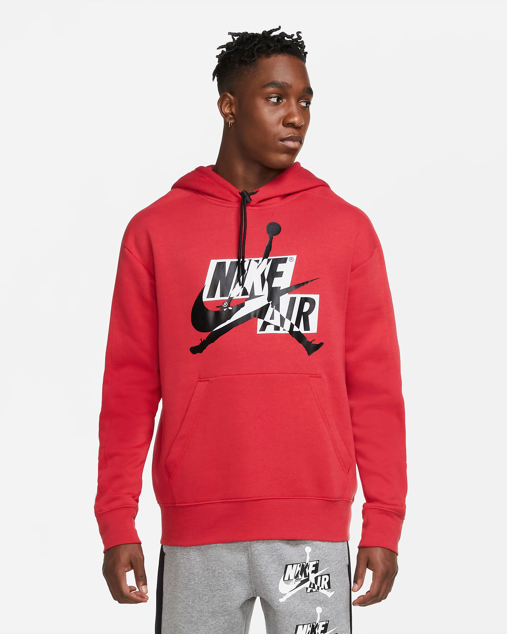 air-jordan-4-fire-red-jumpman-classic-hoodie-red