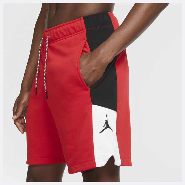 air-jordan-4-fire-red-matching-shorts-1